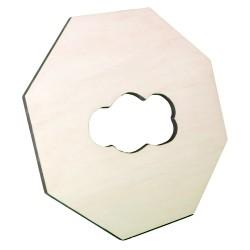Cadre  Octogonal en bois personnalisable