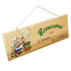"""Planchette """" Maestro des grillades """""""